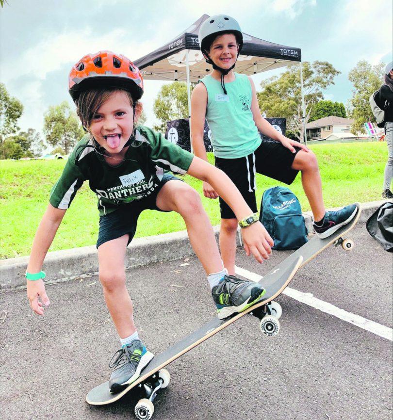 skateboarders